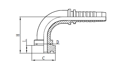 4SH Montaža cevne spojke Risba