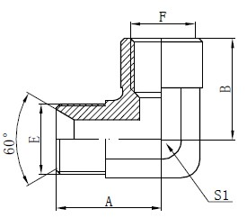 Priključni priključki BSP Adapter Fiting