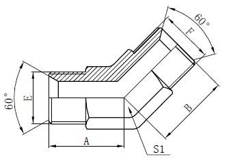 Industrijske cevne armature Risba