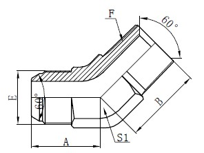 JIS GAS Elbow Connectors Risba
