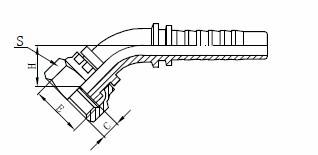 R1AT Sklop hidravličnih cevi