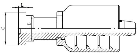 Risba SS konektorja